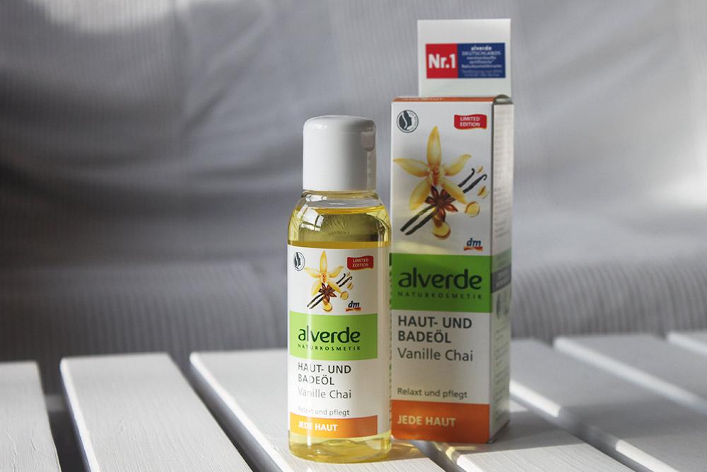 Alverde Haut- und Badeöl Vanille Chai