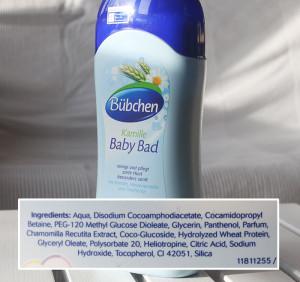 Bübchen Baby Bad Kamille