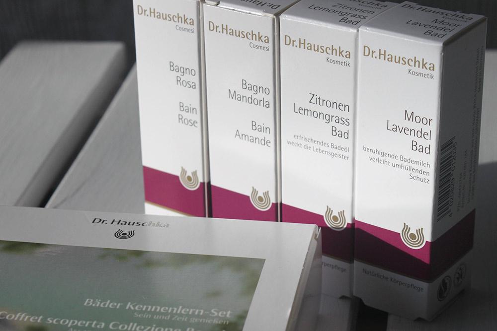 Dr.Hauschka Badeöl und Bademilch