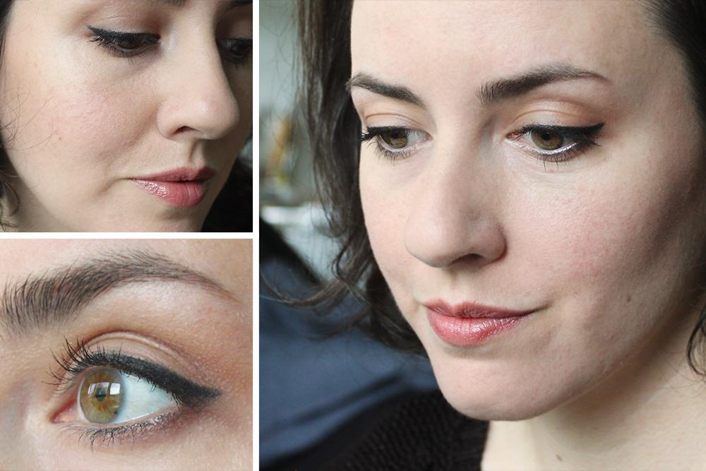 Lavera Mineral Eyeshadow / Mineral Sun Glow Powder / geschminkt