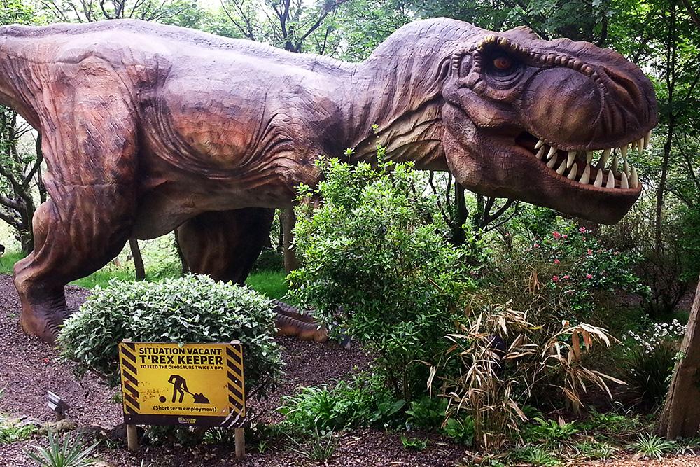 Blackgang Chine: Im ältesten Themenpark Englands erwachen die Dinosaurier zum Leben