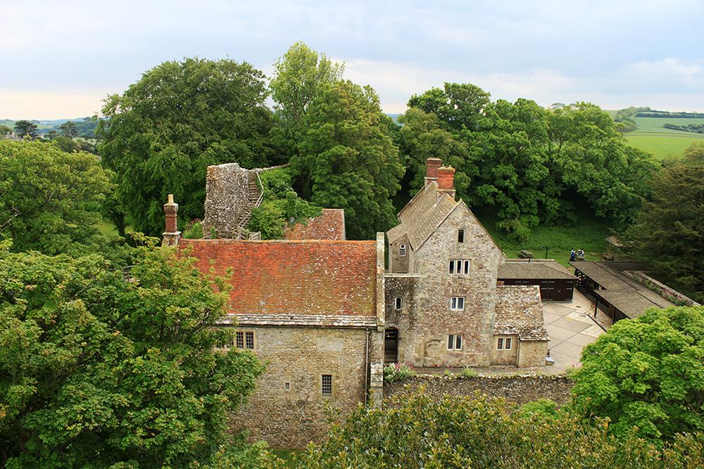Isle of Wight Carisbrooke Castle 4