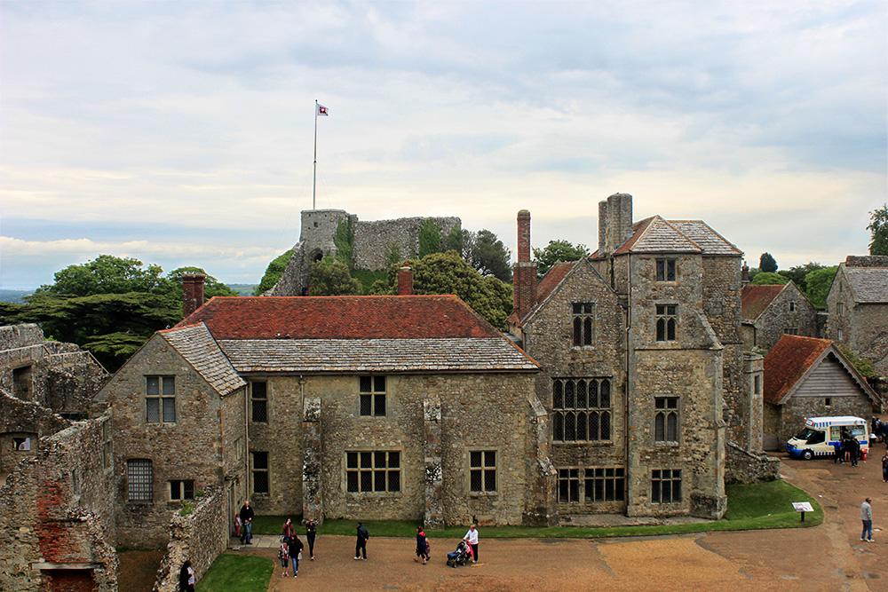Isle of Wight Carisbrooke Castle 5