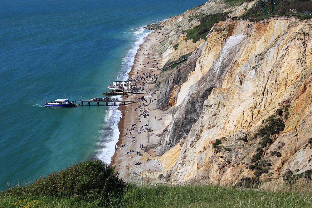 Coloured Sands in der Alum Bay