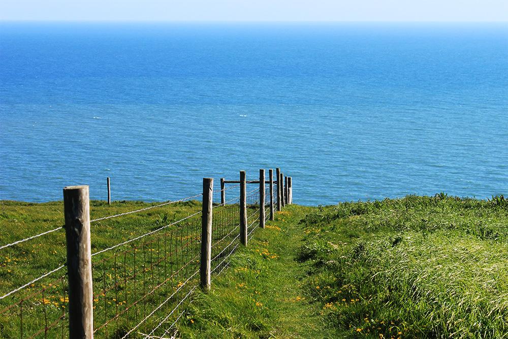 Wandern entlang des Coastal Path