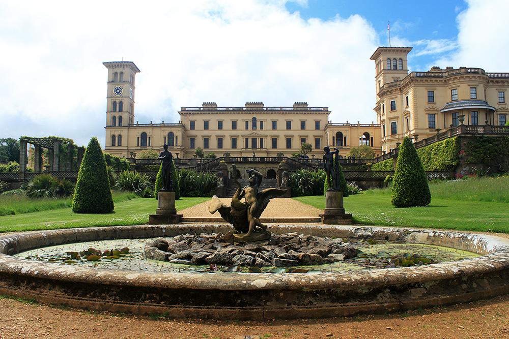 Osborne House, das ehemalige Zuhause von Queen Victoria und Prince Albert