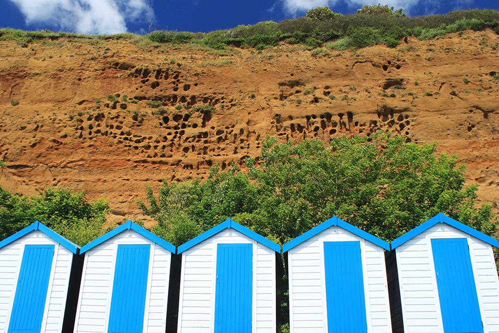 Isle of Wight Sandown Beach Cliff