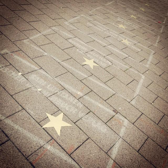 Walk of Fame auf der
