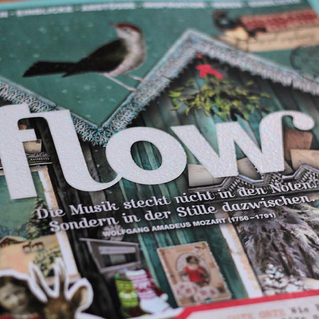 flow reimt sich auf snow. #glitzer #flowmagazin #flow