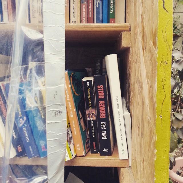 Tschüss, Bücher! #doit2015 #nochmotiviert