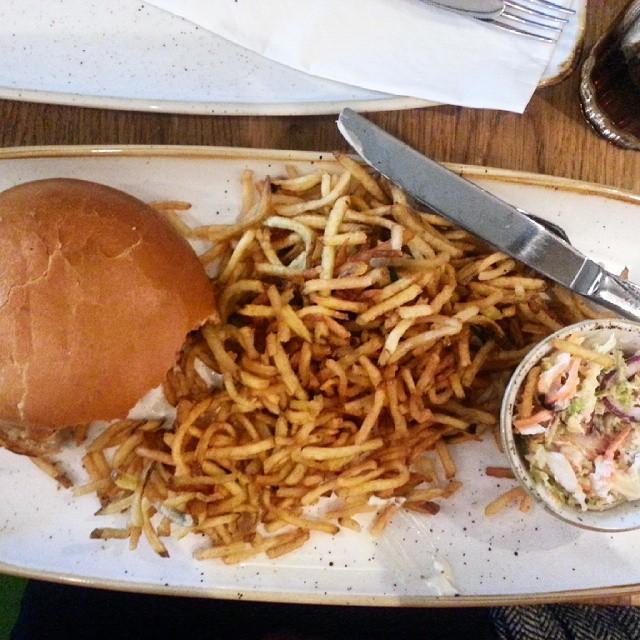 Das war ehrfurchtsam! #dasburger  #vegetarisch #awesome #pause