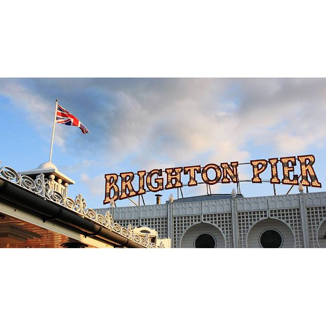 Brighton Pier #latergram