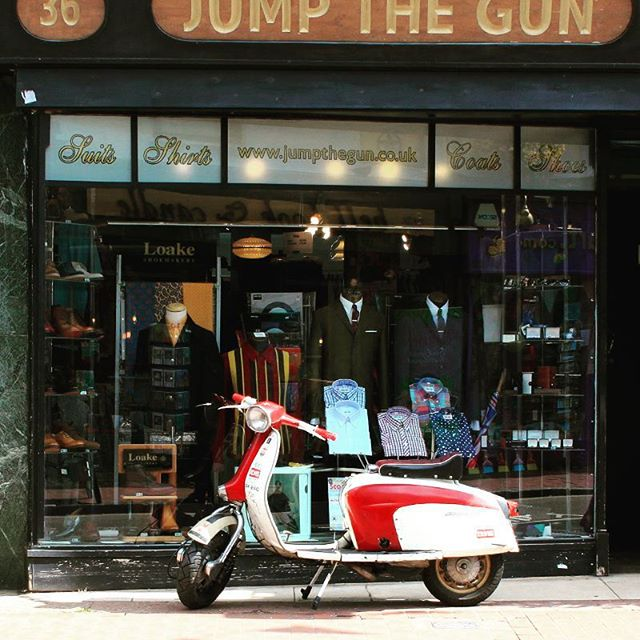 #mods and #modettes paradise. #60s #Brighton #modstyle #quadrophenia #scooter #northernsoul