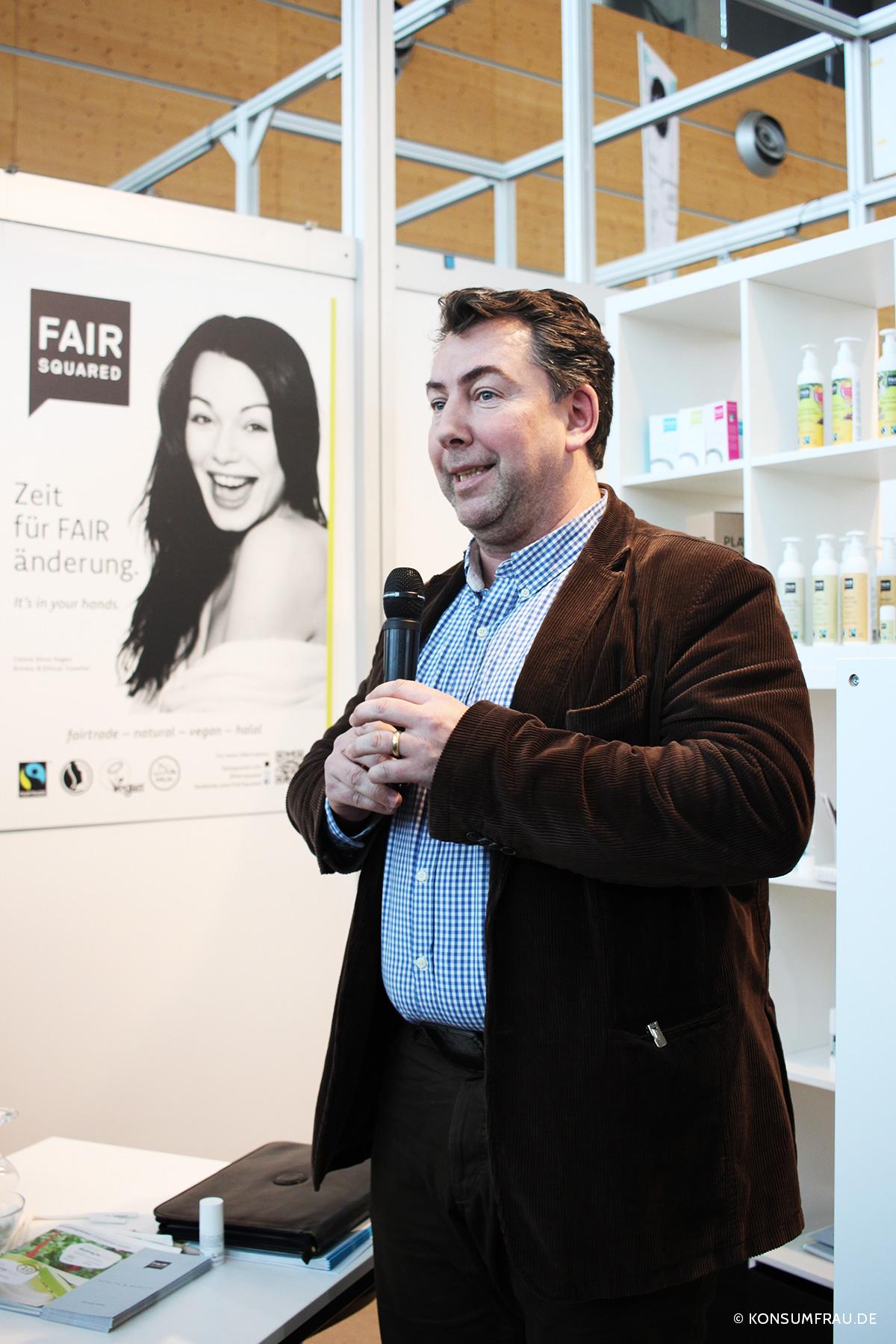 Oliver Gothe ist einer der Gründer von Fair Squared