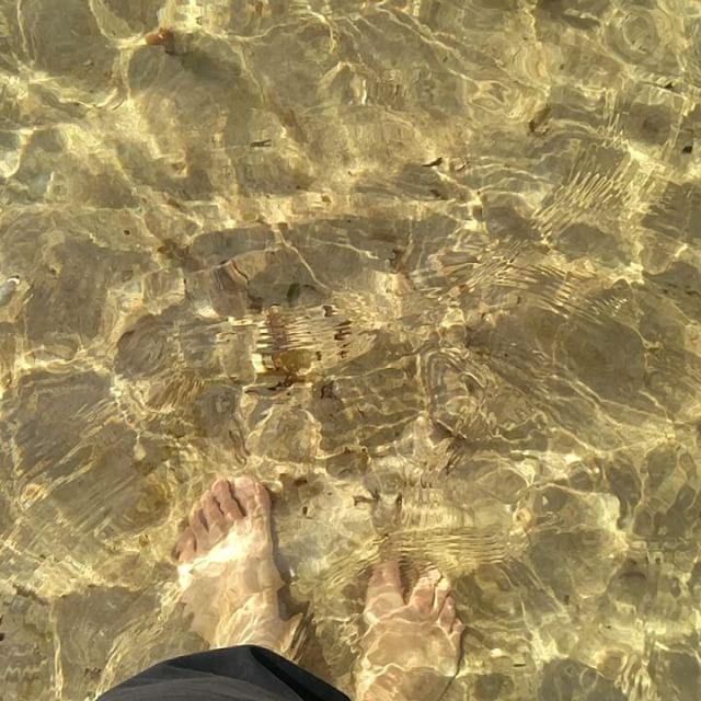 Nach dem Wandern ab ins Meer... #scotland #westerross