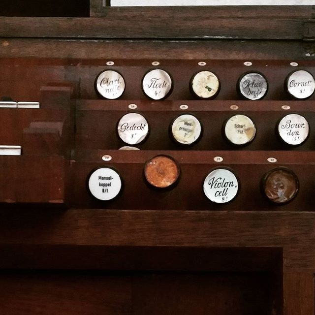 Walcker-Orgel. #organ #albertschweitzer played #jsbach on